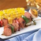 Johnsonville Smoked Brat Kabobs