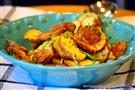 Roasted Tater Rounds with Green Onions & Tarragon