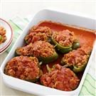 Andouille-Stuffed Peppers