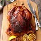 Apple-Butter Barbecued Roasted Chicken