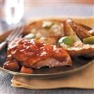 Applesauce Barbecue Chicken