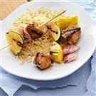 Apricot-Glazed Chicken Kabobs