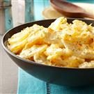 Au Gratin Garlic Potatoes