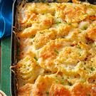 Au Gratin Potatoes with Squash