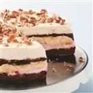 Banana Split Brownie Cake