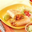 Barbecue Chicken Burritos