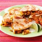 BBQ Shrimp Quesadillas