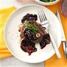 Beef Tenderloins with Cranberry Sauce