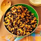 Black Bean-Sweet Potato Skillet