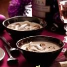 Brie and Wild Mushroom Soup