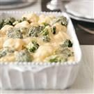 Broccoli-Cauliflower Cheese Bake
