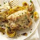 Broiled Chicken & Artichokes
