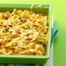 Cajun Chicken Pasta Bake