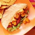 Cajun Popcorn Shrimp Sandwiches