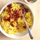 Cheesy Bacon Spaghetti Squash