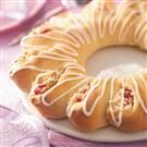 Cherry-Cheese Tea Ring