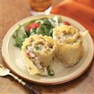 Chicken and Broccoli Lasagna Rolls