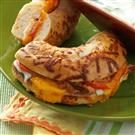Chicken Bagel Melts
