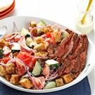 Chili-Rubbed Steak & Bread Salad