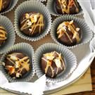 Chocolate-Covered Peanut Butter & Pretzel Truffles