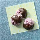 Chocolate-Dipped Cranberry Cookies