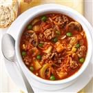 Chunky Beef Vegetable Soup