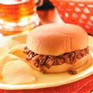 Contest Winning Barbecued Beef Sandwiches
