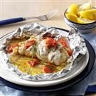 Crab & Shrimp Stuffed Sole