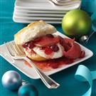 Cranberry-Pear Compote Shortcake