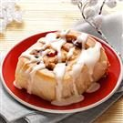 Cranberry-White Chocolate Cinnamon Rolls