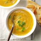Creamy Cauliflower Pakora Soup