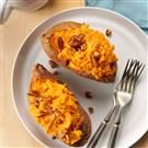 Creamy Twice-Baked Sweet Potatoes