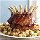 Crown Roast of Pork with Mushroom Dressing