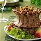 Crown Roast with Plum-Apple Stuffing