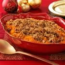 Eggnog Sweet Potato Casserole