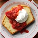Slow Cooked Strawberry Rhubarb Sauce