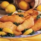 Lemon-Batter Fish