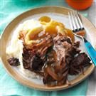 Coffee-Braised Roast Beef