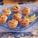 Salmon Tartlet Appetizers