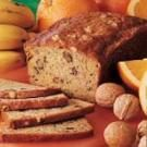 Orange Banana Nut Bread