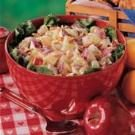 Lemony Chicken Fruit Salad
