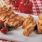Savory Chicken Vegetable Strudel
