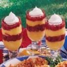 Raspberry Pudding Parfaits