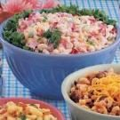 Ham and Shrimp Macaroni Salad