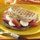 Nutty Waffle Sandwiches