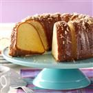 Coconut Pound Cake with Lime Glaze