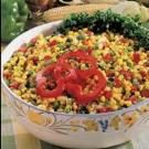 Quick Colorful Corn Salad