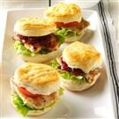Mini Chicken & Biscuit Sandwiches
