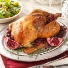 Roast Turkey with Sausage-Cabbage Stuffing