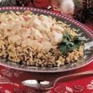 Creamed Turkey over Rice